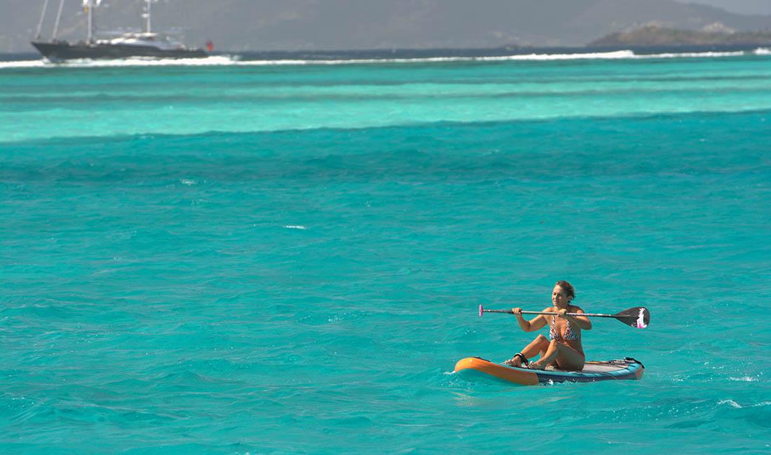 błękit Tobago Cays