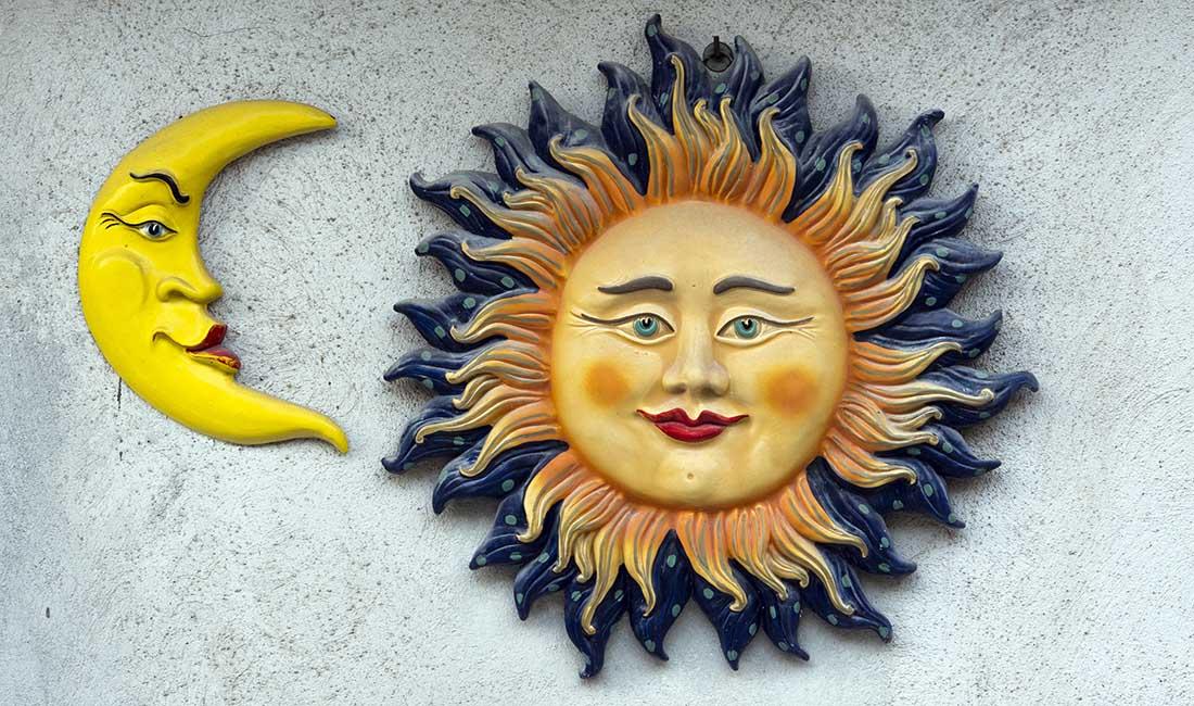 słońce dominuje