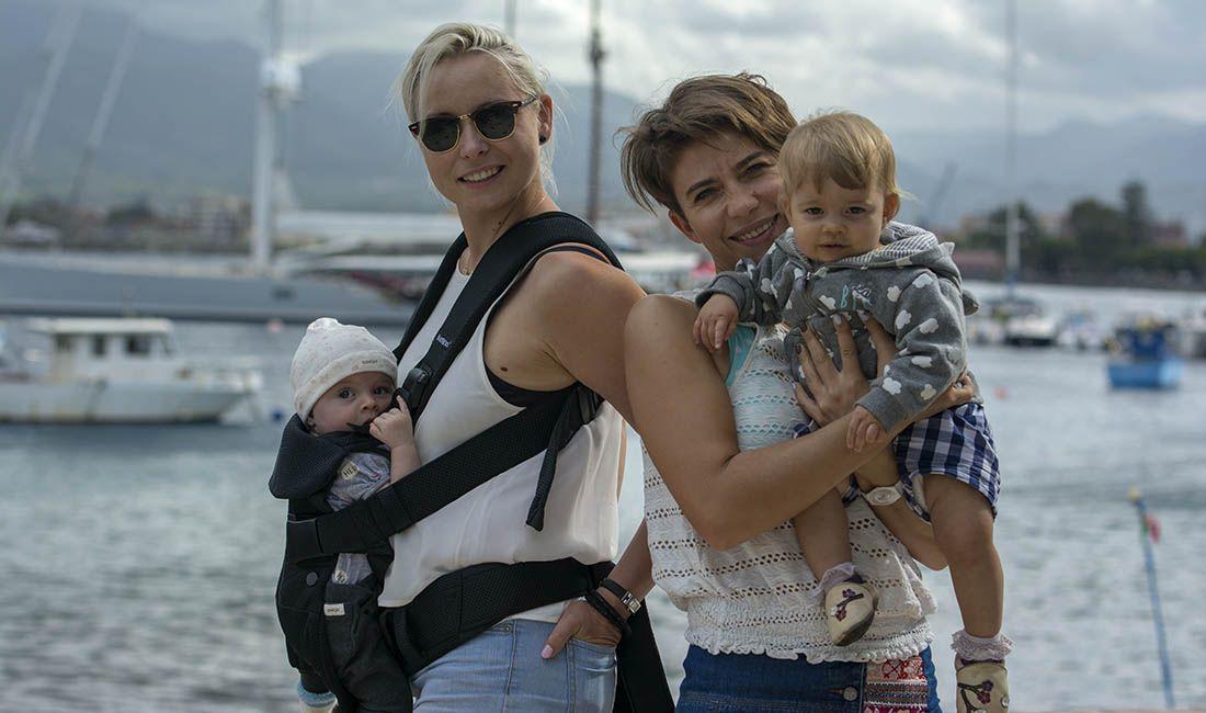 żeglujące matki karmiące :)