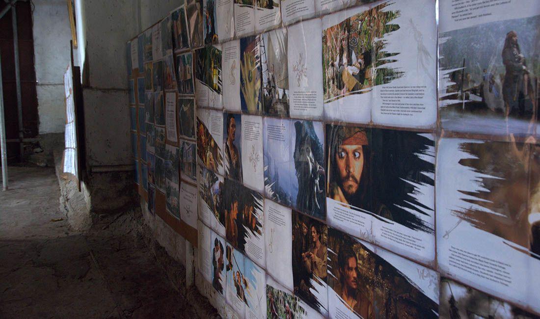 mini muzeum Piratów z Karaibów