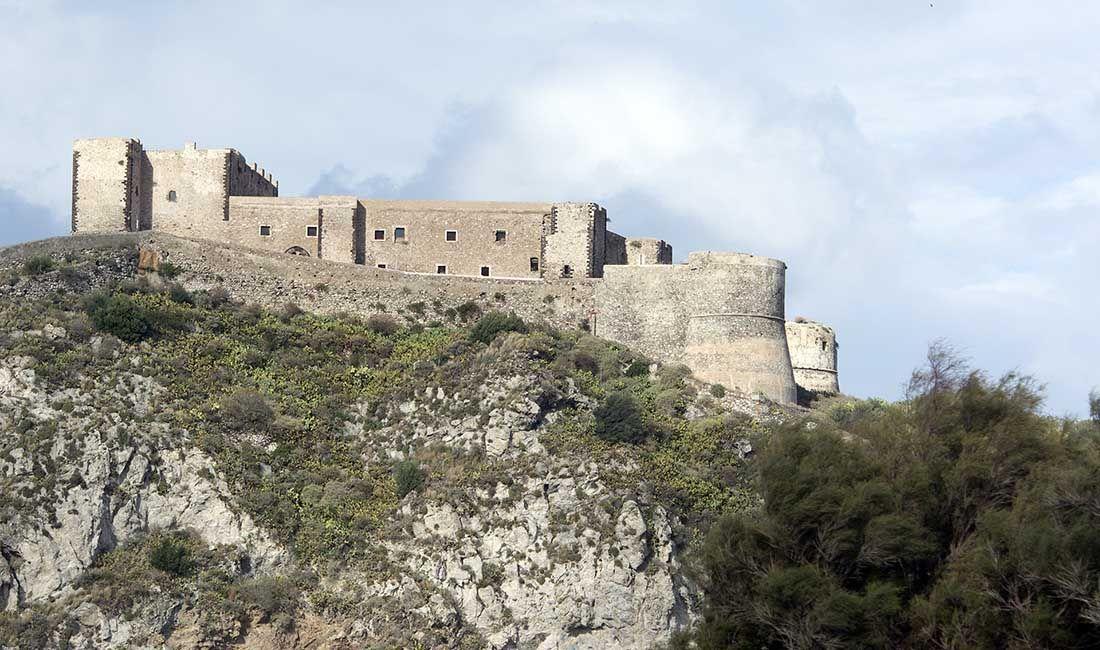 zamek w Milazzo