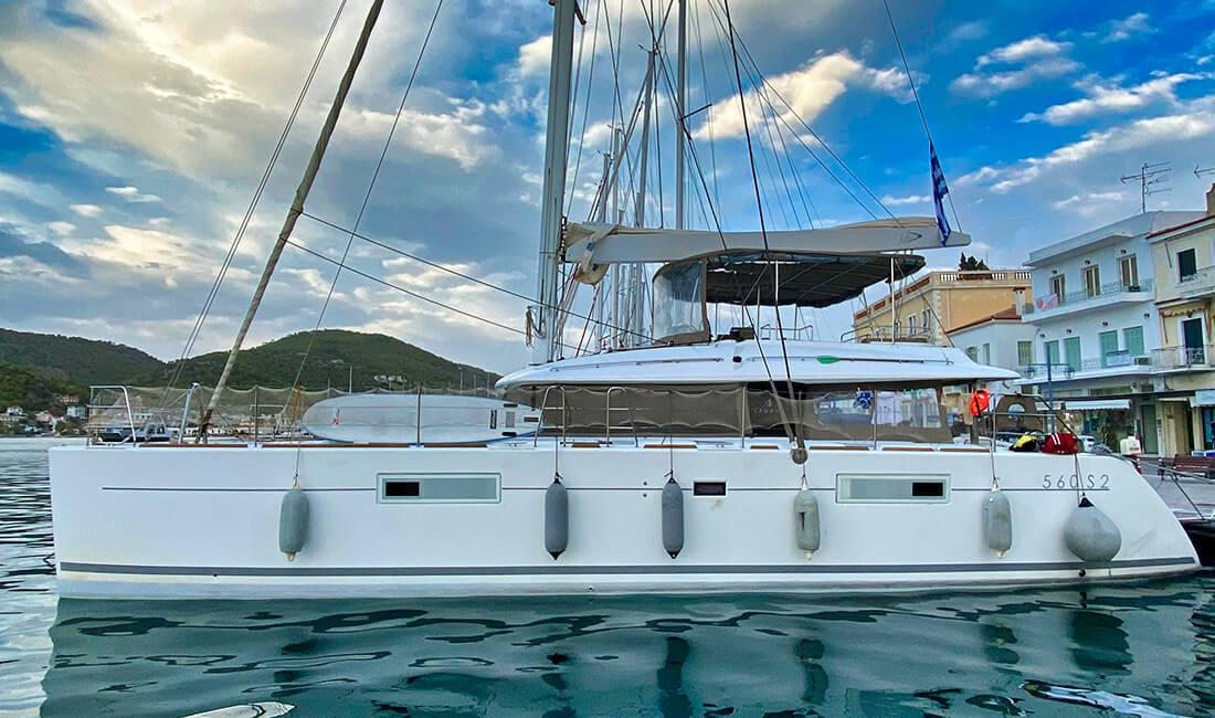 Wyspa Poros - Lagoon 560
