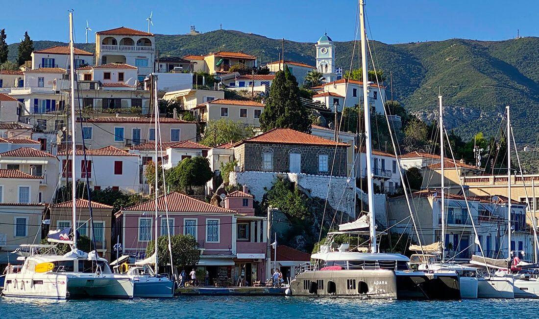 Wyspa Poros - Sunreef 50